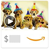 Amazon eGift Card - Happy Birthday Dogs (Animated) [American...