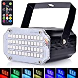 Mini Strobe Light for Parties, AFDEAL Sound Activated and Speed Control LED Disco
