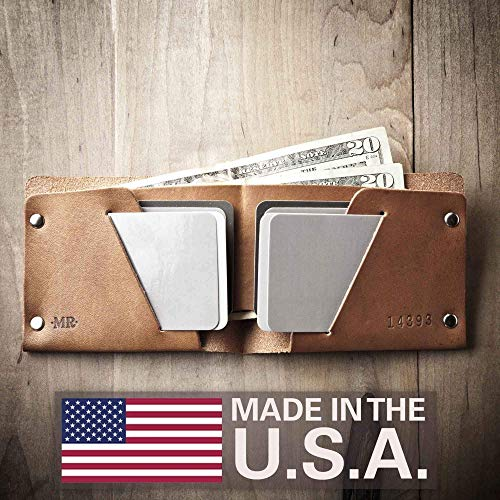 Mens Leather Wallet - Extra (Made in USA by Mr. Lentz) 013