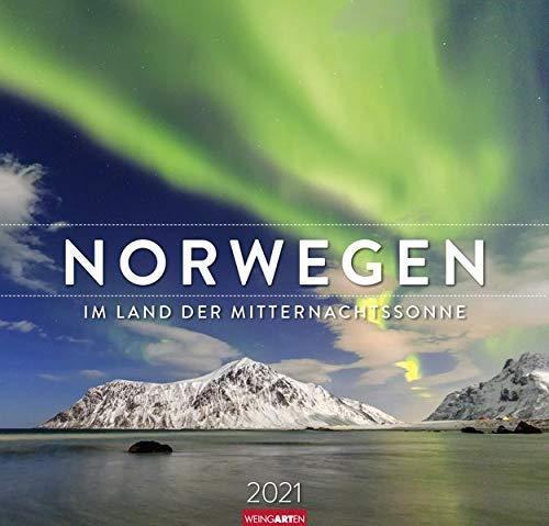 Norwegen Kalender 2021: Im Land der Mitternachtssonne