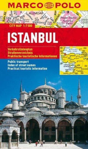 MARCO POLO Cityplan Istanbul 1:7 500: Stadsplattegrond 1:15 000 (MARCO POLO Citypläne)