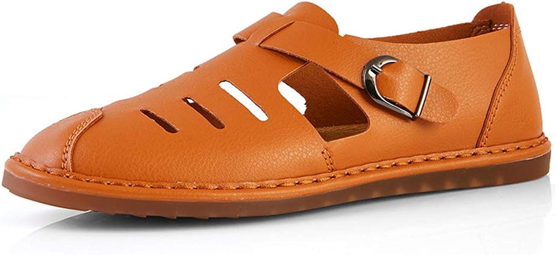 Mans skor 2019 ny Casual Comfort Flat Loafers & och Slip -Ons  sommar Comfort Hole Laty Driving skor, A,46