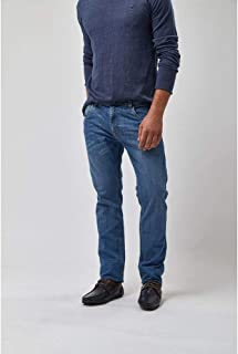 Calça Jeans Basica Clara - Jeans Claro