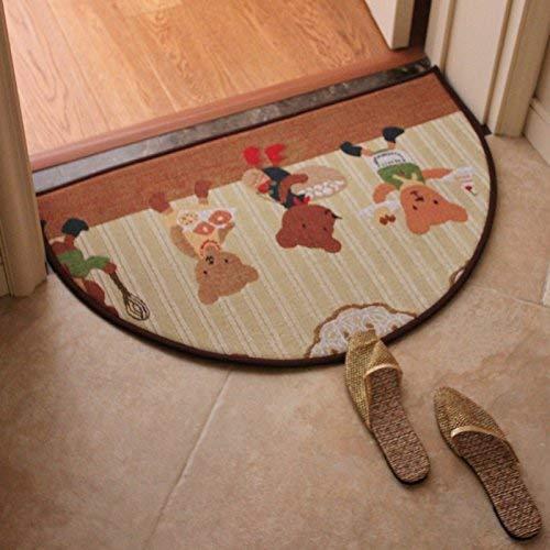 carpet Tapis Anti-dérapant de Tapis Durable sous Vide Lavable à la Maison Chambre irrégulière Salle de Bains Cuisine Tapis Absorbant Tapis Tapis Quotidien,# 4
