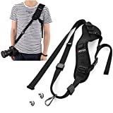 LNKOO Camera Strap, Rapid Fire Shoulder Neck Strap Sling Belt Quick Release Safety