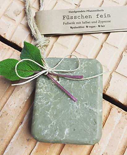 Seifenglück Füsschen fein Seife vegan palmölfrei handmade