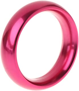 CONtenct-Toy Aluminum Alloy Eggplant Rings Brother Ring Adult Delay Male Ejaculation Daily Toys with Red