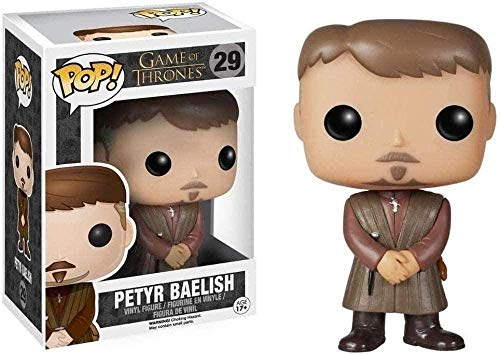 Figura Pop de Game of Thrones: coleccionables de Petyr Baelish Decorations en Caja de Vinilo de 10 cm