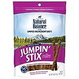 Natural Balance L.I.D. Limited Ingredient Diets Jumpin' Stix Dog Treats, Venison & Sweet Potato Formula, 4 Ounces, Grain Free