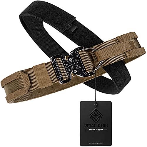 PETAC GEAR Tactical Molle Belt Rigger Belt with Cobra Buckle...