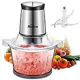 Picadora Electrica de Alimentos con Recipiente de 1.5L 400W, Kealive Procesador de Alimentos Electrico Universal Trituradora para Verduras Frutas y Carne