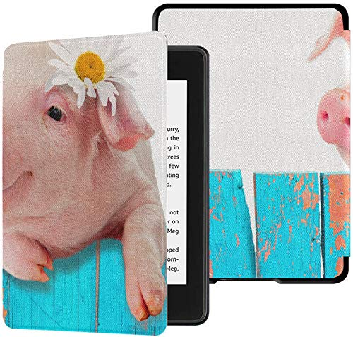 Schutzhülle für Kindle Paperwhite 2018 Farm Animal Cute Funny Young Pig...