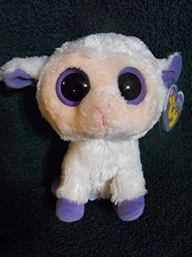 ~CLOVER~ ty beanie baby boo RARE 6`` UK EXCL CREAM VERSION LAMB mwmt, EASTER ,#G14E6GE4R-GE 4-TEW6W298406