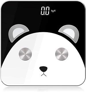 sufengshop Báscula de piso inteligente Báscula de baño Cuerpo Báscula de peso en el hogar BMI Pesaje mi Báscula Báscula de pesaje digital Balance Panda Gift