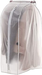 Housekeeping Organizers,Housekeeping Supplies,Fashion Three-Dimensional Clothing Hanging Household Transparent Dust Bag Three-Dimensional Clothes Hanging Type Household Transparent Dust Bag White M