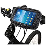 DFV mobile - Soporte Profesional para Manillar de Bicicleta y Moto Impermeable Giratorio 360º para Nubia V18 - Negra