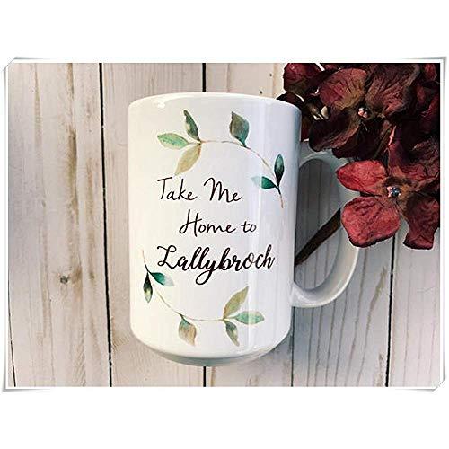 Von Outlander inspirierte Kaffeetasse Hochglanz-Keramikbecher Tasse Tee-Becher
