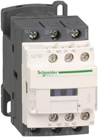 50//60 Hz bobine 24 VCA Schneider Electric LC2D09B7 contacteur inverseur TeSys 3P LC2-D 9 A 440VAC-3