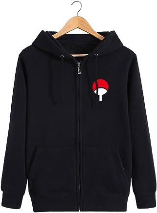Weimisi Naruto Anime Zip-up Hoodie