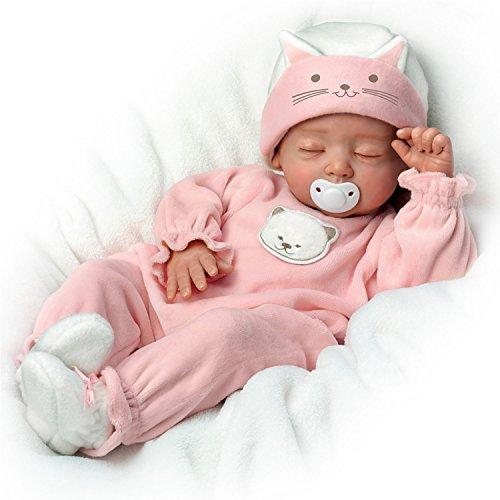 newborn baby doll sleeping