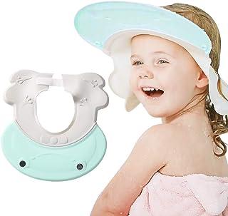 Baby Verstellbarer Shampoo Schutz Haarewaschen Haarwaschhilfe Baby Augenschutz Ohrenschutz Duschhaube Kinder Kappe Wasserdicht Cap F/ür 1-12 Jahre Alt Shampoo Bade Bad Sch/üTzen Weiche Kappe Hut