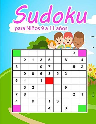 Sudoku para Niños 9 a 11 años: para niños edades 9-11. Mejore las habilidades lógicas | Pasatiempos rompecabezas Sudoku fácil 3x3