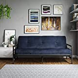 "Best Futon Frames - DHP Rio Metal Arm Futon with 6"" Microfiber Review"