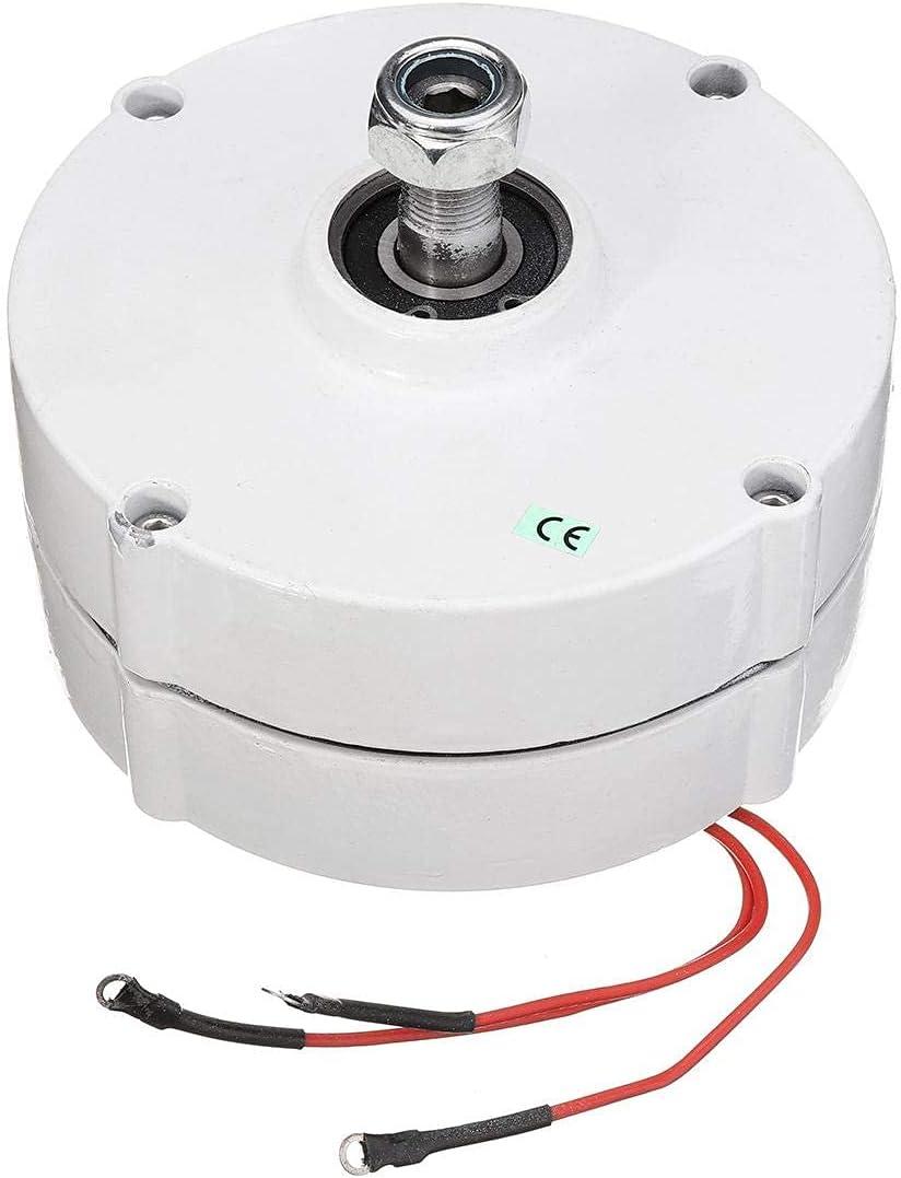 YQGOO 200W 12 V 24 voltios DIY 600R / Min trifásico PMSG generador de energía eólica eléctrica sin escobillas generador de imán Permanente Motor alternador