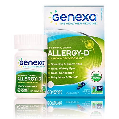 Genexa Allergy-D – 180 Tablets (3 Pack)  ...