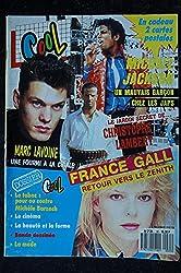 COOL 035 1987 FRANCE GALL MARC LAVOINE MICHAEL JACKSON STEPHAN EICHER COCK ROBIN SANDRA + POSTERS JULIEN CLERC SUPERMAN IV
