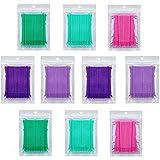 microcepillos aplicadores Fiyuer 1000 Pcs micro pinceles hisopos de algodón bastoncillos ...