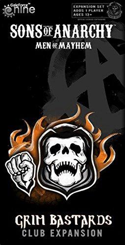 Unbekannt Gale Force 9 GF9SOA02 - Sons of Anarchy - Grim Bastards Expansion, Brettspiel
