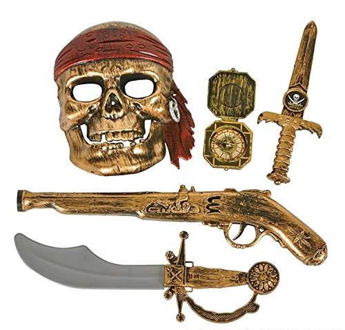 Rhode Island Novelty 5pc Pirate Pistol Set