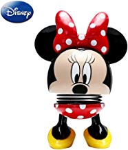 Disney Minnie Mouse Bobblehead Mouse Figure Black & Red Style (3.5 Inches)