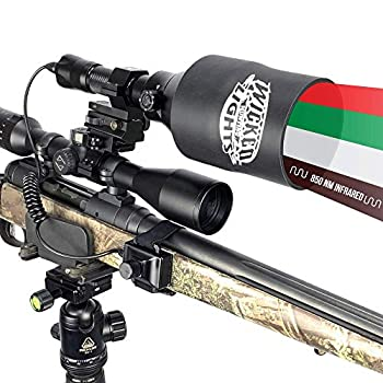 Wicked Lights A75iC 4-Color-in-1 Night Hunting Light Kit for Hog Coyote Varmints and Predators