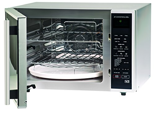 Sharp R959SLMAA Combination Microwave Oven, 40 Litre capacity, 900W, Silver