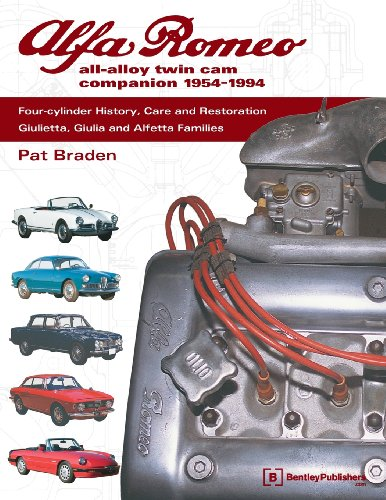 Compare Textbook Prices for Alfa Romeo All-Alloy Twin CAM Companion, 1954-1994: Four-Cylinder History, Care, and Restoration: Giulietta, Giulia, and Alfetta Families  ISBN 9780837602752 by Braden, Pat