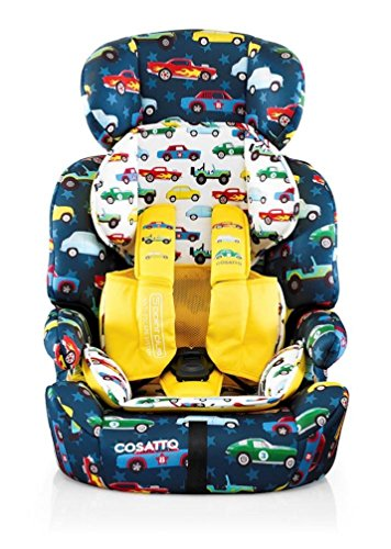 Cosatto Zoomi Car Seat | Group 1 2 3, 9-36 kg, 9 Months-12 years, Side Impact Protection, Forward...