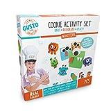 Kit de pâtisserie pour enfants avec kit d'activité Monster Cookie Cookie Craft, carte de recettes de Cookie Monster et plus encore. Excellent kit de pâtisserie pour enfants - Parfait pour les enfants.