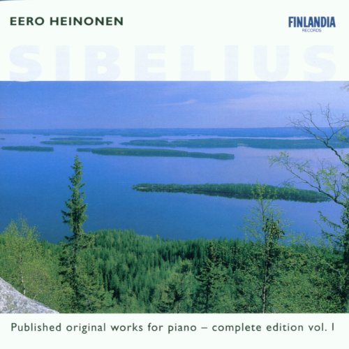 Sibelius : Published Original Works for Piano - Complete Edition Vol. 1