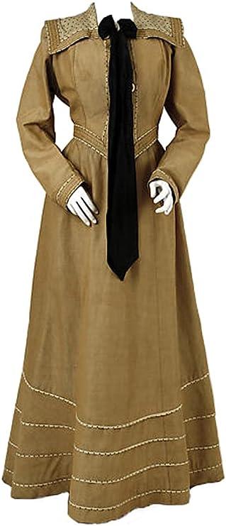 Victorian Edwardian Tea Dress and Gown Guide Woman's Suit of 1900s Vintage Costume Historical Edwardian Dress Work Suit  AT vintagedancer.com