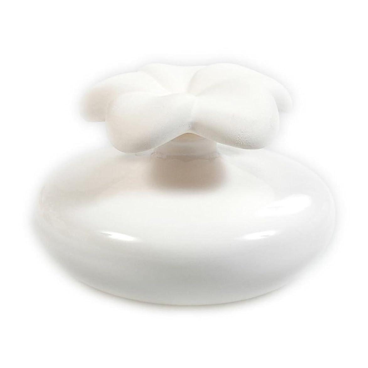 オーストラリア人たまに急流Millefiori FIORE ルームフレグランス用 花の形のセラミックディフューザー Mサイズ ホワイト LDIF-FM-001