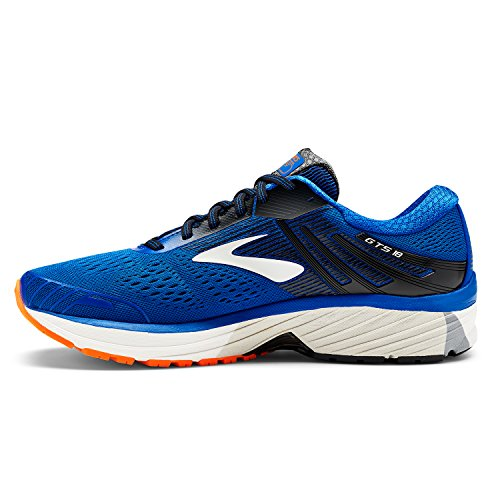 Brooks Herren Adrenaline Gts 18 Laufschuhe, Blau (Blue/Black/orange 1d420), 41 EU