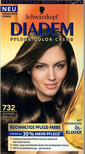 Diadem Schwarzkopf Haarfarbe crémé Nr. 732