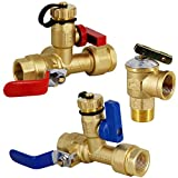 Twinkle Star 3/4 Inch Isolation Kit involves hot and cold valves 500WOG with 1/4 red and blue handles for easy identification and use. Integrated drain valve with brass safety cap for easily maintenance. Equipped with full port ball valve for better ...