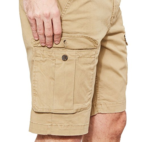 Timberland Webster Lake Cargo Pantaloncini, Beige (British Khaki 918), W30/L28 (Taglia Produttore: 30) Uomo