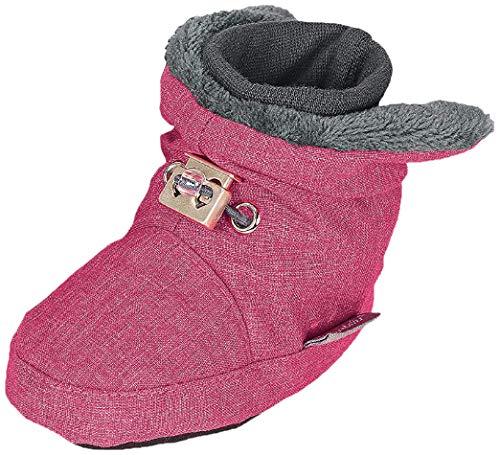 Sterntaler Unisex Baby Schuhe Krabbelschuhe, magenta mel., 15/16 EU