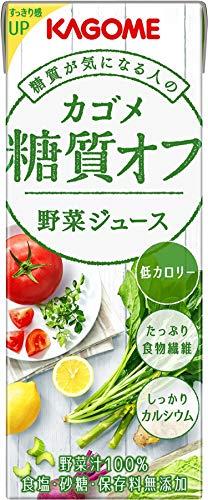 カゴメ 野菜ジュース 糖質オフ(糖質3.3g)