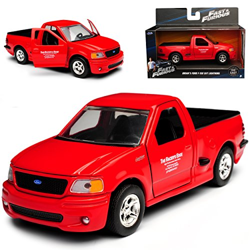 Ford F-150 SVT Lightning Rot Brian O'Connor Paul Walker The Fast and The Furious 1/32 Jada Modell Auto