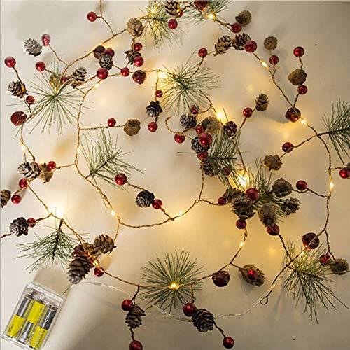 Weihnachten Echinacea Lichterkette FeiliandaJJ 20LED 2M LED-Licht für Weihnachten Party Hof Innen/Außen Haus Deko String Lights (Mehrfarbig)